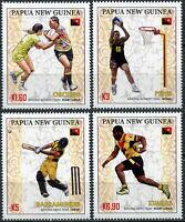 Papua New Guinea 2019. Papua New Guinea Sports Teams (MNH OG) Set of 4 stamps