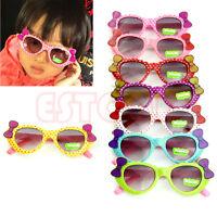 Cute Baby Boys Girls Kids Sunglasses Glass Child Goggles Bow Eyewear UV 400
