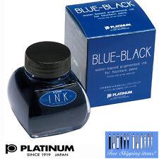 Platinum Bottle Ink INK-1200 #3 Blue-Black 60cc Made in Japan Free Ship!!