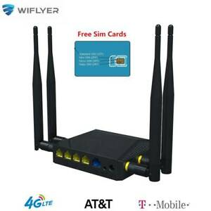 WE3926 4G LTE Wireless Router WiFi SIM Card Modem Hotspot 1200Mbps Home Router