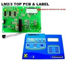 LM2/3 ZODIAC PCB TOP DISPLAY, + LABEL, NEW CLOCK new larger battery free post Oz
