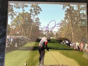 Rory Mcilroy Signed 8X10 Photo Masters