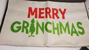 Grinch Pillow Cover