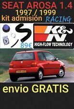 Kit Admisión RACING K&N 57-0261-1 Seat AROSA