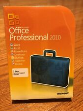 Microsoft Office 2010 Professional For 3 PCs (1+ 2 Keys) New Sealed Full Retail