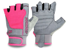 OUTDOOR SPORTS LADIES CYCLING GLOVES CYCLE BICYCLE GYM EXERCISE HALF FINGER