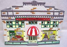 Department 56 Original Snow Village Series Village Market 1988 W/Box #5044-0