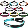 Leather Dog Collar Martingale Choke Collars for Dogs Personalized ID Tag