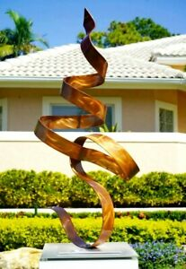 Modern Metal Large Copper Garden Sculpture Yard Art Indoor/Outdoor Art Jon Allen