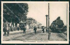Asti Nizza Monferrato Stazione Treno PIEGHINA cartolina KF2211