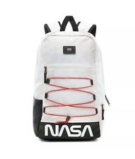 Vans x NASA Snag Plus Backpack Space White RARE🔥🔥Limited Edition VN0A3HM3XH9
