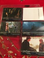 Harry Potter and the Prisoner of Azkaban Update Silver Foil Promo Card 4 Cards