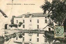 Carte ROMILLY SUR SEINE Moulin de Sellières