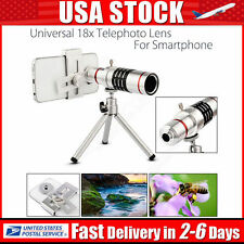 18x Telescope Zoom Optical Telephoto Lens For iPhone 6s 7 Samsung Galaxy S7 NEW