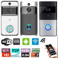 Waterproof Wireless WIFI Doorbell IR Night Vision Visual Camera Phone Intercom