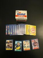 1986 Fleer Update Complete Set Barry Bonds Will Clark Jose Canseco RCs (L12.1)