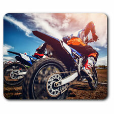 Computer Mouse Mat - Awesome Motocross Bike Vehicle Racing Office Gift #8305
