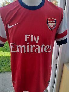 Arsenal 2012 Home Shirt Size M Adult