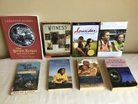 Mixed Lot Of 8 African American Character Chapter Books Young Reader Scholastic