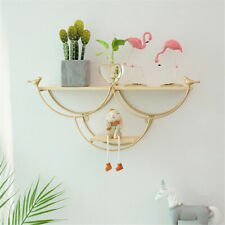 Wall Shelf Floating Shelves Flowerpot Holder Rack for Bedroom, Living Room