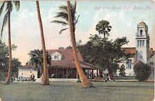 c.1910 Golf Club House Palm Beach FL post card
