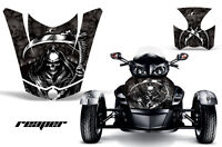 AMR Racing CanAm BRP RS Spyder Hood Graphic Kit Wrap Roadster Sticker Decal RP K