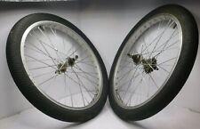 "Vintage 20"" Bmx Wheels Fly-Rims Pro Series Alloy Redline Haro Gt Dyno mongoose"