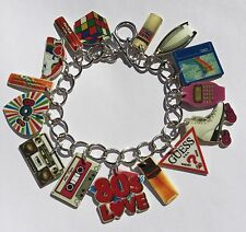 80s Bracelet I love The 80s Throwback Charms Eighties