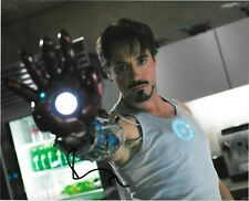 Robert Downey Jr Signed Autograph Actor IRONMAN AVENGERS MARVEL 8X10 Photo COA