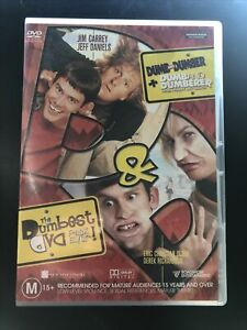 The Dumbest DVD Pack Ever Dumb And Dumber + Dumb And Dumberer Region 4