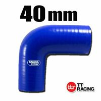 Silicone Turbo Air Pipe 90 Degree Elbow Radiator Coolant Hose 40mm 1.62""