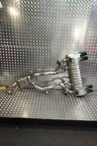 BMW M2 F87 COMPETITION Auspuff Abgasanlage Mittel Endschalldämpfer Stellmotor