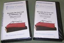 Teaching Company Alexander Great & Hellenistic Age Great Courses Audio Cassettes