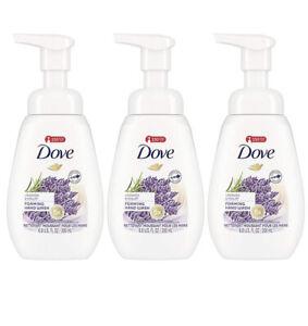 (3) Dove Lavender & Yogurt Foaming Liquid Hand Wash Soap - 6.8oz each