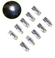 10 PCS T10 12V Auto LED Xenon Licht Glassockel Innenraum Standlicht Weiß Lampe