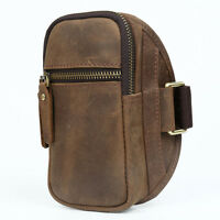 Men's Vintage Leather Running Sports Case Arm Pouch Bag iPhone 6S Plus Armband