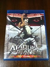 ATAQUE A LOS TITANES VOL 1 - CAPS 1 A 4 - EDICION COMBO BLURAY + DVD - 100 MIN