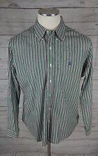 POLO RALPH LAUREN Button Up Shirt ~ XL ~ CUSTOM FIT Striped