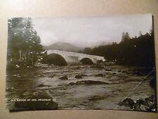 Postcard- OLD BRIGDE OF DEE, BRAEMAR, Scotland > Aberdeenshire,  117