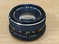 Mamiya 50mm f1.7 Prime Lens To Fit  35mm Film SLR Camera