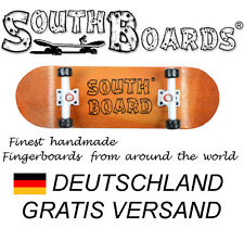 Komplett Holz Fingerskateboard OR/WS/SWZ  SOUTHBOARDS® Handmade Wood Fingerboard