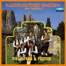 KASTELRUTHER SPATZEN - VIEL SPAß & FREUDE  CD NEUF