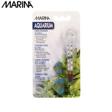 Marina Aquarium Thermometer With Suction Cup - Fish Tank Water Temperature Meter