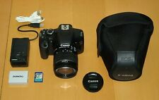 Canon EOS 550D 18.0MP SLR + Kit EF-S 18-55mm IS II + Camera bag.  low shutters