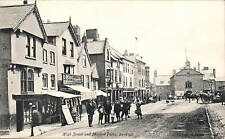 Denbigh. High Street & Market Place by Valentine's..