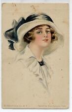ELSIE C. FIDLER American Girl Donnina Cappello Glamour Girl PC Circa 1920