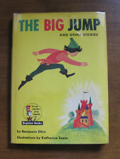 THE BIG JUMP by Benjamin Elkin - HCDJ 1st 1958 Dr Seuss beginner book $1.95