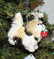 BIANCA The Shih Tzu Ornament (Lynda Corneille, Top Dog by Westland, 20268)
