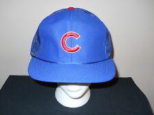 Vtg Official MLB Chicago Cubs 1970s/80s snapback hat - Dawson, Sandberg  (sku#1)