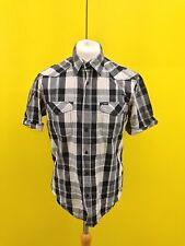 Mens Lee Casual Shirt - Large - Short Sleeved - Great Condition